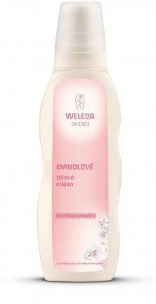 Mandlove telove mleko na citlivou pokozku